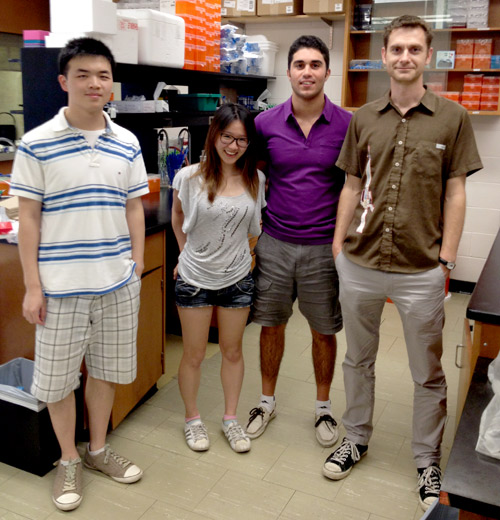 Cox Lab summer students 2012